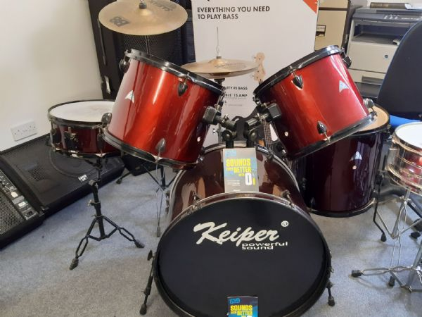 Second Hand Five piece Keiper Drum Kit